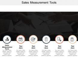 Sales Measurement Tools Ppt Powerpoint Presentation Gallery Background Image Cpb