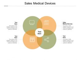 Sales Medical Devices Ppt Powerpoint Presentation Slides Influencers Cpb