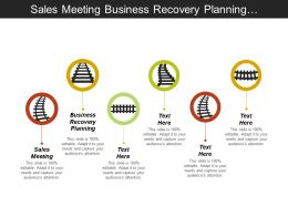 Sales Meeting Business Recovery Planning Customer Service Management