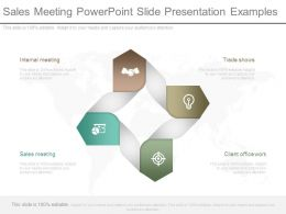 Sales Meeting Powerpoint Slide Presentation Examples