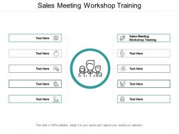 Sales Meeting Workshop Training Ppt Powerpoint Presentation Model Graphic Images Cpb