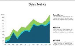 Sales Metrics Ppt Powerpoint Presentation Ideas Structure Cpb