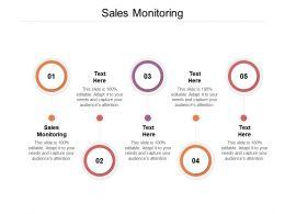 Sales Monitoring Ppt Powerpoint Presentation Inspiration Slideshow Cpb