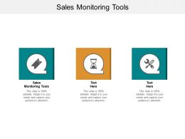 Sales Monitoring Tools Ppt Powerpoint Presentation Infographic Template Ideas Cpb
