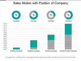 Sales Motion With Position Of Company