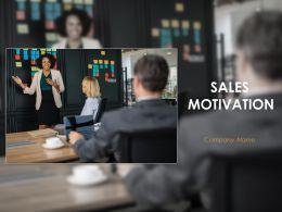 Sales Motivation Powerpoint Presentation Slides
