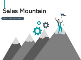 Sales Mountain Executive Planning Roadmap Financial Target Revenue