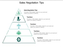 Sales Negotiation Tips Ppt Powerpoint Presentation Professional Shapes Cpb