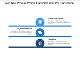 Sales New Product Project Financials Cost Per Transaction Smart Buildings