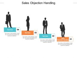 Sales Objection Handling Ppt Powerpoint Presentation Infographic Template Objects Cpb