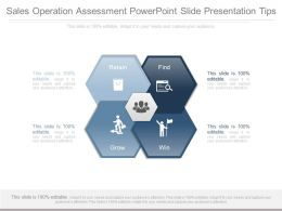 Sales Operation Assessment Powerpoint Slide Presentation Tips