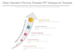 Sales Operation Planning Template Ppt Background Template