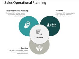 Sales Operational Planning Ppt Powerpoint Presentation Gallery Slide Cpb