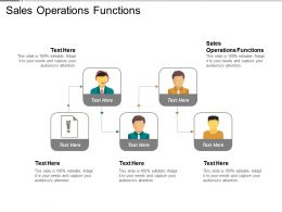 Sales Operations Functions Ppt Powerpoint Presentation Inspiration Cpb