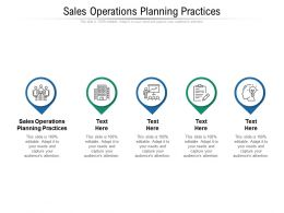 Sales Operations Planning Practices Ppt Powerpoint Presentation Layouts Display Cpb