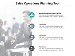 Sales Operations Planning Tool Ppt Powerpoint Presentation Model Graphics Cpb