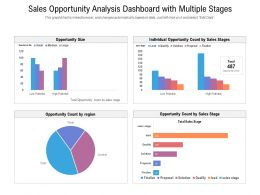 Sales Opportunity Analysis Dashboard With Multiple Stages