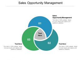 Sales Opportunity Management Ppt Powerpoint Presentation Summary Designs Download Cpb