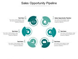 Sales Opportunity Pipeline Ppt Powerpoint Presentation Infographics Slide Portrait Cpb