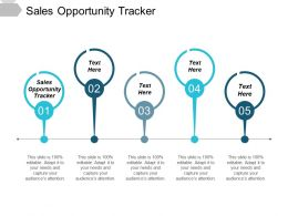 Sales Opportunity Tracker Ppt Powerpoint Presentation Show Graphics Download Cpb