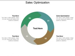 Sales Optimization Ppt Powerpoint Presentation Professional Deck Cpb