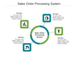 Sales Order Processing System Ppt Powerpoint Presentation Show Picture Cpb