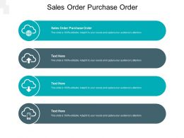 Sales Order Purchase Order Ppt Powerpoint Presentation Professional Pictures Cpb