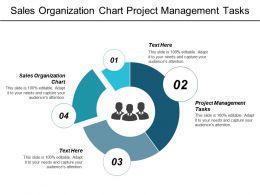 Sales Organization Chart Project Management Tasks Sales Displays Cpb