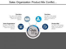 Sales Organization Product Mix Conflict Management Quality Management Cpb