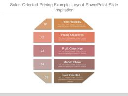 Sales Oriented Pricing Example Layout Powerpoint Slide Inspiration