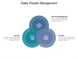 Sales People Management Ppt Powerpoint Presentation Styles Slides Cpb
