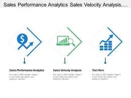 Sales Performance Analytics Sales Velocity Analysis Opportunity Management