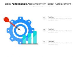 Sales Performance Assessment With Target Achievement
