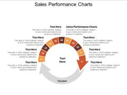 Sales Performance Charts Ppt Powerpoint Presentation Model Example File Cpb