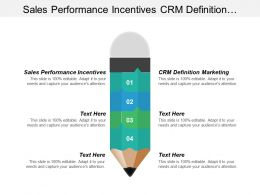 Sales Performance Incentives Crm Definition Marketing Organization Learning Cpb
