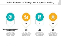 Sales Performance Management Corporate Banking Ppt Powerpoint Image Cpb