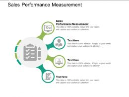 Sales Performance Measurement Ppt Powerpoint Presentation Infographics Background Cpb