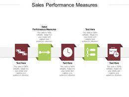 Sales Performance Measures Ppt Powerpoint Presentation Inspiration Master Slide Cpb