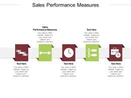 Sales Performance Measures Ppt Powerpoint Presentation Inspiration Master Slide Cpb
