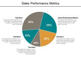 Sales Performance Metrics Ppt Powerpoint Presentation File Gridlines Cpb