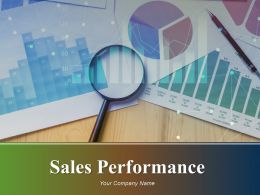 Sales Performance Powerpoint Presentation Slides