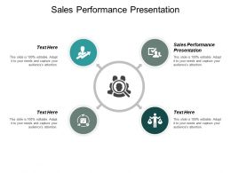 Sales Performance Presentation Ppt Powerpoint Presentation Layouts Visual Aids Cpb
