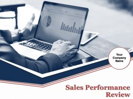 Sales Performance Review Powerpoint Presentation Slides
