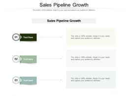 Sales Pipeline Growth Ppt Powerpoint Presentation File Slide Cpb