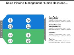 Sales Pipeline Management Human Resource Management Tool Supplier Assessment