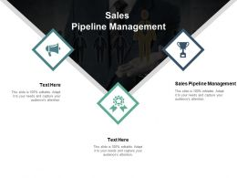 Sales Pipeline Management Ppt Powerpoint Presentation Summary Visual Aids Cpb