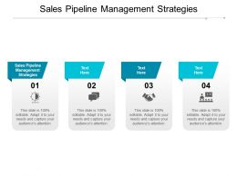 Sales Pipeline Management Strategies Ppt Powerpoint Presentation Infographic Cpb