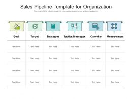 Sales Pipeline Template For Organization