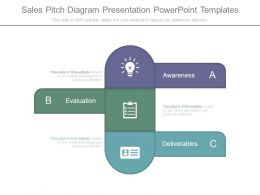 Sales Pitch Diagram Presentation Powerpoint Templates