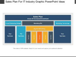 Sales Plan For It Industry Graphic Powerpoint Ideas